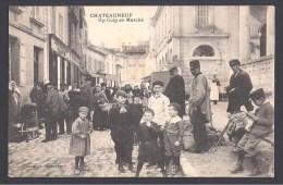 CHATEAUNEUF - Un Coin Du Marché - Chateauneuf Sur Charente