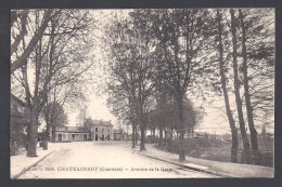 CHATEAUNEUF - Avenue De La Gare - Chateauneuf Sur Charente