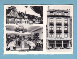 DINANT Sur MEUSE, HOTEL De La GARE, RESTAURANT, BAR // Circulée - FORMAT 10 X 15 - Dinant