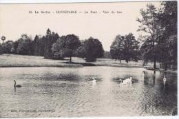 72 - Bonnétable (Sarthe) - Le Parc - Vue Du Lac - Bonnetable