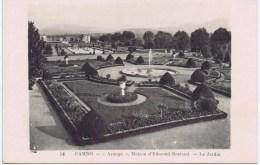 "Cpa CAMBO  ""arnaga"" Maison D Edmond Rostand Le Jardin - Cambo-les-Bains"