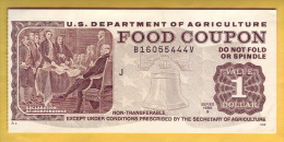 USA - U.S. Department Of Agriculture. Food Coupon. Value 1 Dollar. 1998 - Stati Uniti
