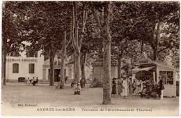 Gréoux Les Bains - Terrasse De L'Etablissement Thermal - Gréoux-les-Bains