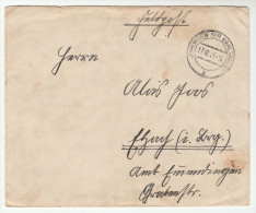 1940 Johlingen GERMANY Feldpost 25816 COVER Forces Military - Cartas