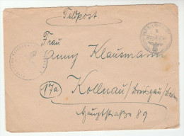 1944 GERMANY Feldpost 25931 COVER Forces Military - Germany