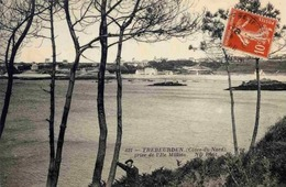 22 TRÉBEURDEN - Vue Prise De L'Île Milliau - Trébeurden