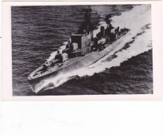 Batiment Militaire Marine Chili Destroyer 7 De Agosto 1958 Coque 06 - Boats
