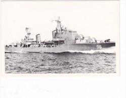 Batiment Militaire Marine Chili Destroyer T De Agosto 1958 Coque 06 Vue 2 - Boats