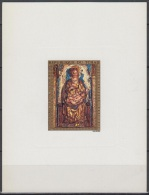 Chad ScC145 Christmas, Noël, Painting, Peinture, Virgin And Child, Dall'Occhio, Deluxe Proof, Epreuve - Religione