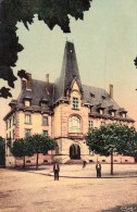 CPSM  54  MEURTHE Et MOSELLE  - BACCARAT  -  L' Hôtel  De Ville   - ( Toilée Couleur Vernis  ) - Baccarat