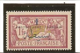 TIMBRES DE FRANCE DE 1914  -  21   Types  De  1902  -  03  Surchargés  N° 51 * Charnière - Unused Stamps