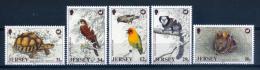 Jersey 1988 / Birds Turtle Rabbit MNH Aves Tortugas Conejos Vögel Oiseaux / Ix00  30-13 - Pájaros