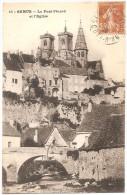 Dépt 21 - SEMUR-EN-AUXOIS - Le Pont Pinard Et L´Église - Semur
