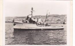 Batiment Militaire Marine Chili Dragueur Locoton Coque 3 1944 Ex ATA Us Navy - Boats
