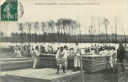 Réf : C-15-852  :  ECOURT SAINT QUENTIN MANOEUVRE DU GENIE ( Défaut à L'angle Haut Gauche) - Frankrijk