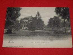 ASSE - ASSCHE  -  Park en  Kasteel van Waerebeek     -   (2 scans)
