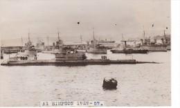 Batiment Militaire Marine Chlil Sous Marin Classe Odin Al Simpson Coque S Devant Flotte Chili 4 Destroyer Dont O Brian - Boats