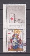 FRANCE / 1993 / Y&T N° 2853a + Vignette : Croix-Rouge (Saint-Nicolas) De Carnet - Choisi - Cachet Rond - France