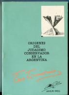 """""""LOS ORÍGENES DEL JUDAÍSMO CONSERVADOR EN ARGENTINA"""" AUTOR ADOLFO WEIL EDIT.SEMINARIO AÑO 1988 PAG. 170 NUEVO GECKO - Ontwikkeling"""