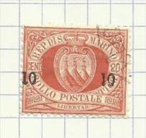 Saint-Marin N°11 Côte 8 Euros - Saint-Marin
