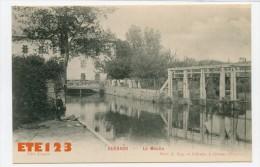 Guérard - Le Moulin Genevray -  Barrage - France