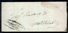 Lagonegro-00365e - Piego (con Testo) Del 26 Novembre 1853 - - Italia