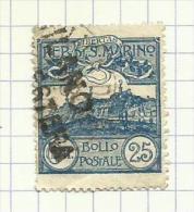 Saint-Marin N°38 Côte 6 Euros - Oblitérés