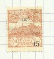 Saint-Marin N°46 Côte 4 Euros - Oblitérés