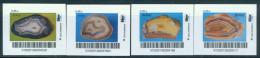 Biber Post 4 Mkn Achate (5) (4 X 0,45) Glatt, Langer UPOC Altes Logo A722 - Privées & Locales