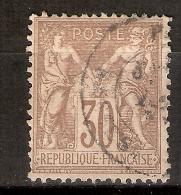 011427 Sc 73 PEACE AND COMMERCE - SAGE TYPE I -30c - 1876-1878 Sage (Type I)