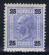 Austria, Yvert Nr 72  MH/*  1899 - Used Stamps