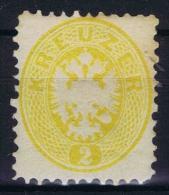 Austria,  1863 Mi Nr 30 MH/* But Perfo 10.75 (ND?) - Ungebraucht