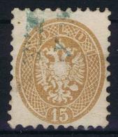 Austrian Lombardo-Veneto ,  Yv Nr 27 Used    1864  Blau Entwertung Ferchenb   €  425 - 1850-1918 Imperium