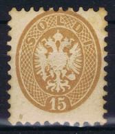 Austrian Lombardo-Veneto ,  Yv nr 27 MH/* 1864