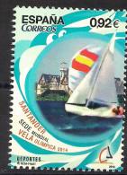 2014 Spanien Mi. 4910**MNH  Segelweltmeisterschaften In Den Olympischen Bootsklassen, Santander. - 2011-... Nuovi & Linguelle