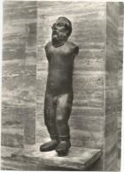 Y1740 Paestum - Statua Di Bronzo Di Marsia / Non Viaggiata - Sculture