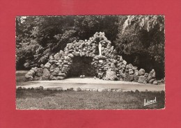 CPSM..dépt 44..MOISDON La RIVIERE  :  Maison  Hospitalière N.D. De La Charité - Grotte De Lourdes :   Voir Les 2 Scans - Moisdon La Riviere