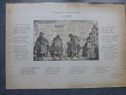 Gustave RANDON : La Légende Des 3 Invalides, LE CHAT NOIR, Dédicacée ; Ref 315 - Estampes & Gravures