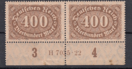 Deutsches Reich - Mi.222a ** HAN 7035.22 (punto Di Ruggine Sul Bordo) - Deutschland