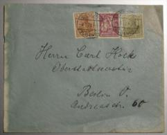 Brief 5 + 60 + 60 Pf  Im Ortsverkehr Mit OT Berlin Südende 1922 - Germania