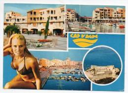 34 - Le Cap D'Agde - Multivues - Agde
