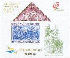 España Prueba De Lujo 025 ** Granada. 1992 - Blocks & Sheetlets & Panes