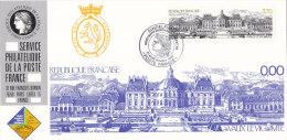 FRANKREICH 2732 Auf Ausstellungskarte Des Service Philatelique De La Poste Zur SÜDWEST ´89 Sindelfingen, Schloss - Documents Of Postal Services