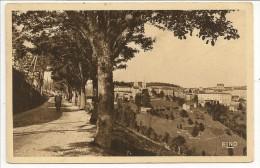 07 - LA LOUVESC - Boulevard Des Elégants Et La Ville - éd. Margerit-Brémond ELNO N° 9808 - 1936 - La Louvesc