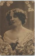 Photo Mit Autograph Von Anna V. Feldberg ? - Artisti
