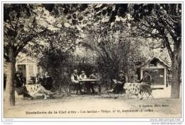 77-BARBIZON-Hôtel De La Clef D´Or-Les Jardins  Très-animée - Barbizon