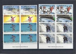 140019034  ANGUILLA  YVERT   Nº  342/7 **/MNH - Anguilla (1968-...)