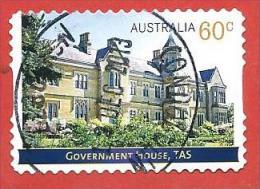 AUSTRALIA USATO - 2013 - Government Houses – Tasmania TAS - 60 C - Michel AU 3966 - AUTOADESIVO - Usati