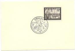 DR Mi.775 Und Mi.776 Auf Karton M. SSt. München KWHW Gaustrassensammlung Der Beamtenschaft 18.1.42 (4659) - Germania