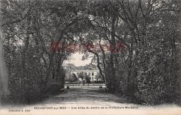 17 - ROCHEFORT SUR MER - Le Jardin De La Préfecture Maritime - Lot De 4 - 8 Scans - Rochefort